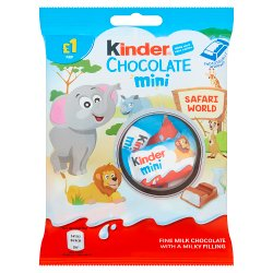 Kinder Chocolate Mini Pouch 72g