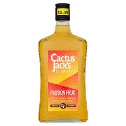 Cactus Jack's Schnapps Passion Fruit 50cl