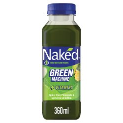 Naked Green Machine Apple & Kiwi Smoothie 360ml