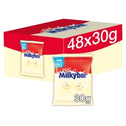 Nestlé® Milkybar® White Chocolate Buttons Bag 30g
