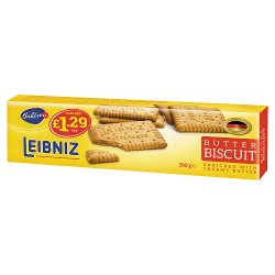Bahlsen Leibniz Butter Biscuits 200g
