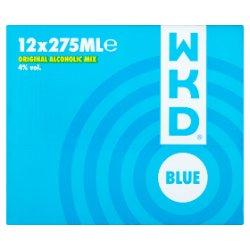 WKD Blue 12 x 275ml