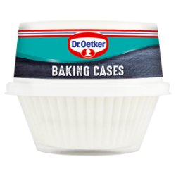 Dr. Oetker Baking Cases 100 White Cases
