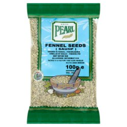 White Pearl Fennel Seeds 100g