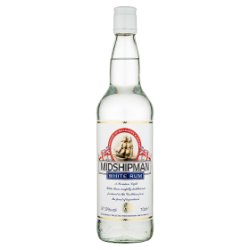 Midshipman White Rum 70cl