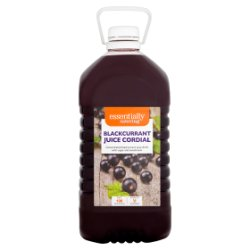 Essentially Catering Blackcurrant Juice Cordial 5L