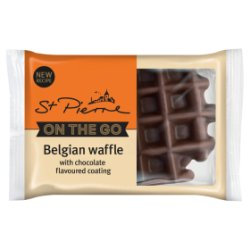 St Pierre Belgian Chocolate Waffle 90g