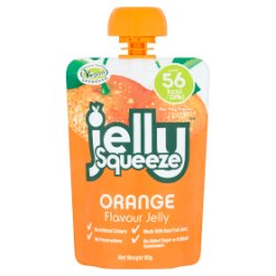 FruityPot Jelly Squeeze Orange Flavour Jelly 95g