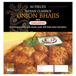 Daloon Indian Classics Onion Bhajis 50 Pieces 1.75g
