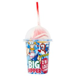 Crazy Candy Factory Big Dipper 2 in 1 Lolly & Sherbet