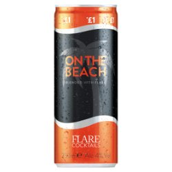 Flare Cocktails On the Beach 250ml