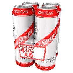 Red Stripe Jamaican Lager Beer 568ml