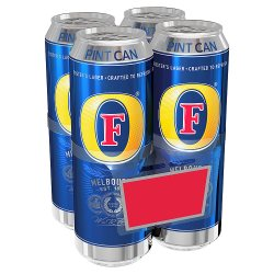 Fosters Pint 4 For GBP5.65