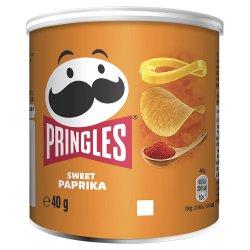Pringles Paprika Crisps, 40g
