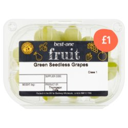 Best-One Green Seedless Grapes