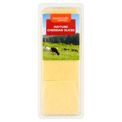 Essentially Catering Mature Cheddar Slices 1kg