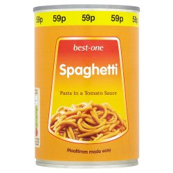 Best-One Spaghetti Pasta in a Tomato Sauce 400g