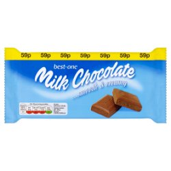 Best-One Milk Chocolate 100g