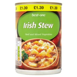 Best-One Irish Stew Beef and Mixed Vegetables 390g