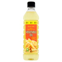 Best-One Vegetable Oil 500ml