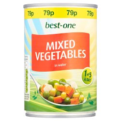 Best-One Mixed Vegetables in Water 300g