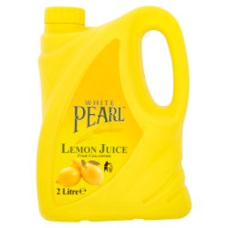 White Pearl Lemon Juice from Concentrate 2 Litre