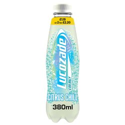 Lucozade Energy Citrus Chill 12 x 380ml £1.19 PMP or 2 for £2.20