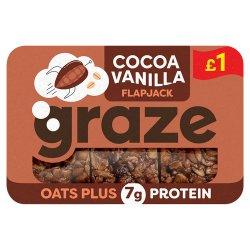 Graze Cocoa Vanilla Protein Flapjack 53g