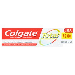 Colgate Total Whole Mouth Health Original Toothpaste 75ml PMP £2.00