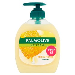Palmolive Liquid Hand Soap Milk & Honey 300ml PMP £1