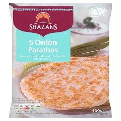 Shazans 5 Onion Parathas 400g