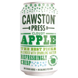 Cawston Press Cloudy Apple 330ml
