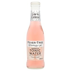 Fever-Tree Refreshingly Light Aromatic Tonic Water 200ml