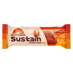 Meridian Sustain Peanut Bar 40g