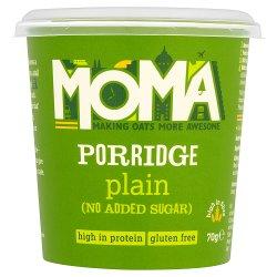 MOMA Plain No Added Sugar Porridge Pot 70g