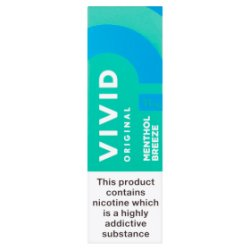 Vivid Original Menthol Breeze 11mg/ml E-Liquid 10ml
