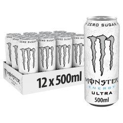 Monster Ultra Energy Drink 12 x 500ml