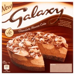 Galaxy Chocolate Mousse Cake 425g
