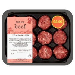 Best-One Beef 12 Steak Meatballs