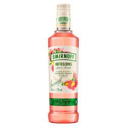 Smirnoff Infusions Raspberry, Rhubarb and Vanilla 50cl