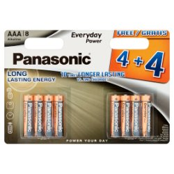 Panasonic Everyday Value Silver AAA LR03 Alkaline 1.5V