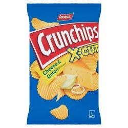 Lorenz Snack-World X-Cut Crunchips Cheese & Onion Flavour 85g