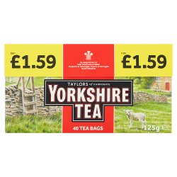 Taylors of Harrogate Yorkshire Tea 40 Tea Bags 125g