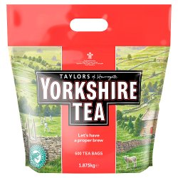 Taylors of Harrogate 600 Yorkshire Tea Bags 1.875kg