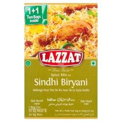 Lazzat Foods True Taste Spice Mix for Sindhi Biryani 2 x 50g (100g)