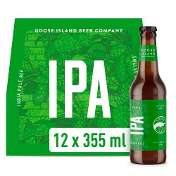 Goose Island IPA Craft Ale Beer Bottles 12 x 355ml