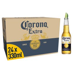 Corona Extra Lager Beer Bottles 24 x 330ml
