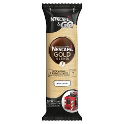 NESCAFÉ Gold Blend Instant White Coffee, Sleeve of 8 Cups x 7.2g (57.6g)
