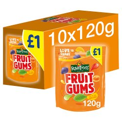 ROWNTREE'S Fruit Gums Sweets Sharing Bag 120g £1