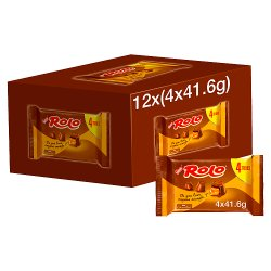 Rolo Milk Chocolate & Caramel Multipack 41.6g 4 Pack